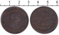 Изображение Монеты Остров Мэн 1/2 пенни 1830 Медь