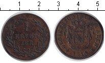 Изображение Монеты Баден 1 крейцер 1816 Медь XF Карл Людвиг Фридрих