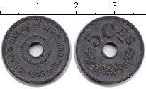 Изображение Монеты Люксембург 50 сантим 1915 Цинк