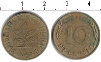 Изображение Монеты Третий Рейх 10 пфеннигов 1967  XF