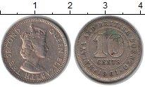Изображение Монеты Малайя 10 центов 1981 Медно-никель XF