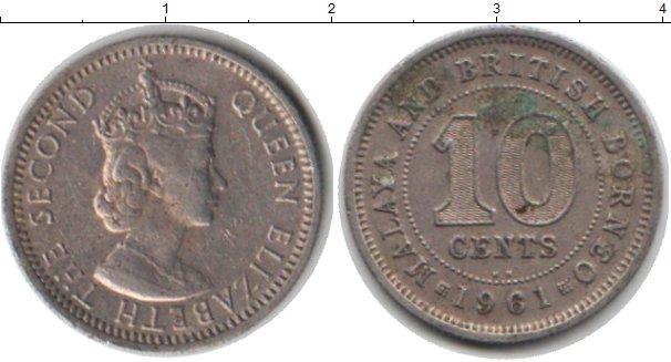 Картинка Монеты Малайя 10 центов Медно-никель 1981
