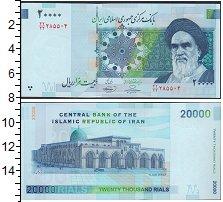 Изображение Банкноты Иран 20000 риалов 2009  UNC-