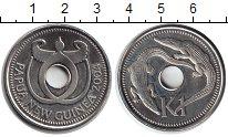 Изображение Монеты Папуа-Новая Гвинея 1 кина 2004 Медно-никель UNC- Крокодил