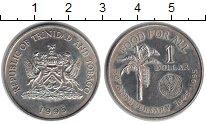 Изображение Монеты Тринидад и Тобаго 1 доллар 1995 Медно-никель XF ФАО