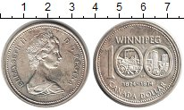 Изображение Монеты Канада 1 доллар 1974 Серебро UNC- Виннипег