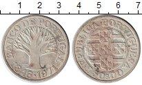 Изображение Монеты Португалия 50 эскудо 1971 Серебро XF Дерево