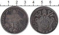 Изображение Монеты Ватикан 1/2 скудо 1780 Серебро VF