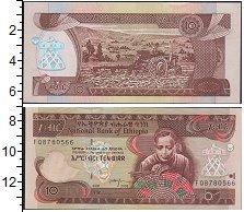 Изображение Банкноты Эфиопия 10 бирр 2008  UNC