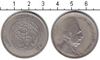 Изображение Монеты Египет 10 кирш 1923 Серебро VF Фуад I