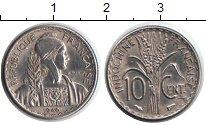 Изображение Монеты Индокитай 10 центов 1946 Медно-никель XF