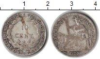 Изображение Монеты Индокитай 10 центов 1923 Серебро VF