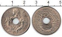 Изображение Монеты Индокитай 5 сантим 1938 Медно-никель XF