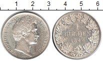 Изображение Монеты Бавария 1 гульден 1846 Серебро XF Людвиг I