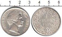 Изображение Монеты Бавария 1 гульден 1839 Серебро XF Людвиг I