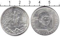 Изображение Монеты Италия 500 лир 1992 Серебро UNC Пьер Делла Франческо