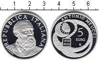 Изображение Монеты Италия 5 евро 2008 Серебро Proof-
