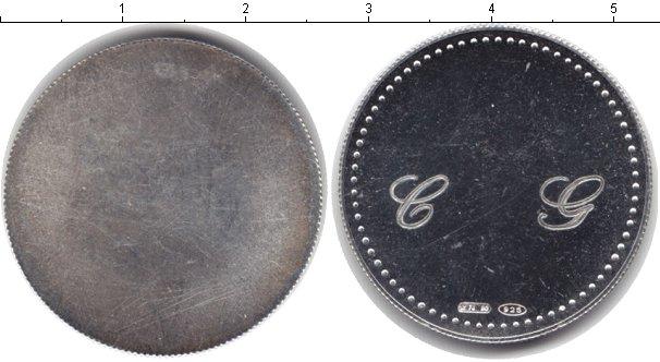 Картинка Монеты Италия жетон Серебро 0