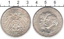 Изображение Монеты Анхальт 3 марки 1914 Серебро UNC-
