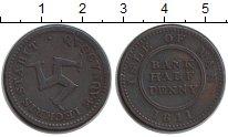 Изображение Монеты Остров Мэн 1/2 пенни 1811 Медь XF