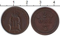 Изображение Монеты Швеция 2 эре 1902 Медь XF
