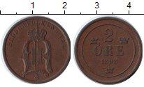 Изображение Монеты Швеция 2 эре 1898 Медь XF