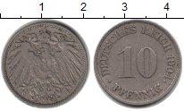 Изображение Монеты Германия 10 пфеннигов 1904 Медно-никель VF