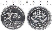 Изображение Монеты КФА 1000 франков 2004 Серебро Proof-