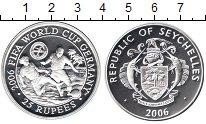 Изображение Монеты Сейшелы 25 рупий 2006 Серебро Proof-
