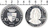 Изображение Монеты Андорра 10 динерс 1997 Серебро Proof-