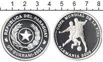 Изображение Монеты Парагвай 1 гарани 2003 Серебро Proof- Чемпионат мира по фу