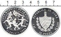 Изображение Монеты Куба 10 песо 2003 Серебро Proof-