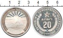 Изображение Монеты Мадагаскар 20 ариари 1978 Серебро Proof- ФАО