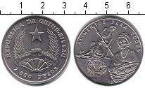 Изображение Монеты Гвинея-Бисау 2000 песо 1995 Медно-никель
