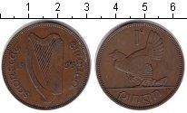 Изображение Монеты Ирландия 1 пенни 1935 Медь XF