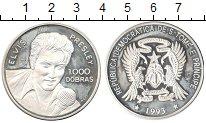 Изображение Монеты Сан-Томе и Принсипи 1000 добрас 1993 Серебро Proof-