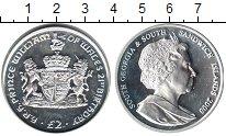 Изображение Монеты Сендвичевы острова 2 фунта 2003 Серебро Proof-