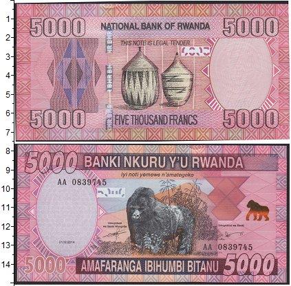 Картинка Боны Руанда 5.000 франков  0