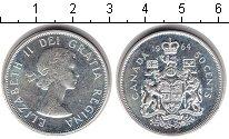 Изображение Монеты Канада 50 центов 1964 Серебро XF