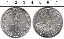 Изображение Монеты США 1 доллар 1989 Серебро UNC- 200-летие Конгресса