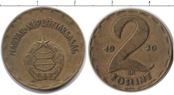 Картинка Барахолка Венгрия 2 форинта Медь 1970