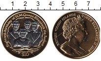 Изображение Монеты Виргинские острова 10 долларов 2006 Серебро Proof- Елизавета II. 80-лет