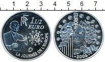 Изображение Монеты Франция 1 1/2 евро 2006 Серебро Proof- 9 мая