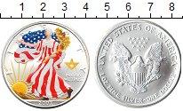 Изображение Монеты США 1 доллар 2007 Серебро UNC-
