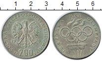 Изображение Мелочь Польша 200 злотых 1976 Серебро XF