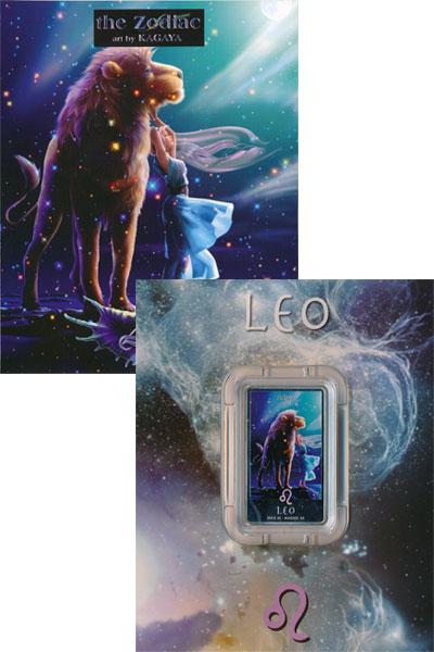 Изображение Подарочные наборы Ниуэ Знак зодиака Лев 2011 Серебро UNC