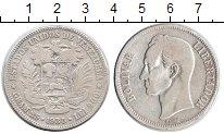 Изображение Монеты Венесуэла 5 боливар 1935 Серебро VF Боливар