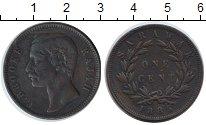 Изображение Монеты Малайзия Саравак 1 цент 1885 Медь VF
