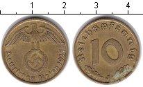 Изображение Монеты Третий Рейх 10 пфеннигов 1937  XF J