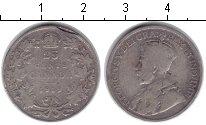 Изображение Монеты Канада 25 центов 1919 Серебро VF Георг V